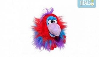 Вземете лилав плюшен и говорещ папагал от Toys.bg!