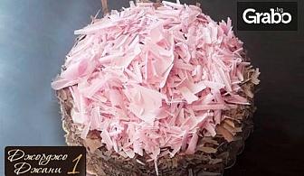 Ягодова торта с розов белгийски шоколад