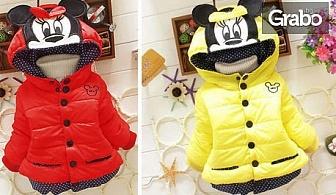 Яке Мики Маус за момичета в размер от 2 до 6 години и цвят по избор