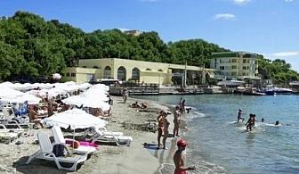 10 Юли - 15 Август All Inclusive на ПЪРВА ЛИНИЯ + чадър и шезлонг на плажа в хотел Марина***, Китен