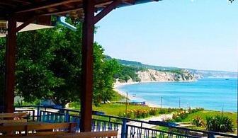 Юли на самия бряг на морето край Балчик! 2 нощувки със закуски, обеди и вечери в Комплекс Свети Георги