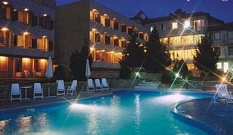 До 20 Юни в Балчик на ТОП ЦЕНА! Нощувка, закуска и вечеря + басейн само за 25 лв. в хотел Наслада***