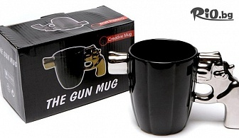 Забавен подарък! Керамична чаша пистолет, от Svito Shop