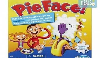 """Забавление за малчуганите! Занимателна игра за деца """"Пай в лицето"""" от Podobro.com!"""