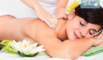 Забравете за проблемите с 60-минутен японски шиацу масаж на цяло тяло от Рейки, масажи и психотерапия!