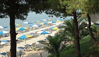 Започнете Лятото с почивка в хотел Porfi Beach - Ситония,Халкидики с басейн, закуска и анимация за деца за една нощувка / 18.05.2017 - 11.06.2017