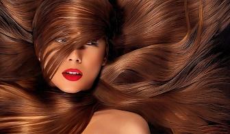 Здрава и блестяща коса с кератинова терапия в салон Принцес. БОНУС 50% отстъпка за сешоар.