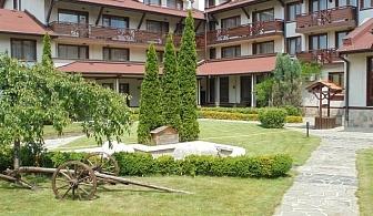 Зелено лято в Банско! Нощувка на човек със закуска и вечеря + басейн и сауна в хотел Евелина Палас**** Банско