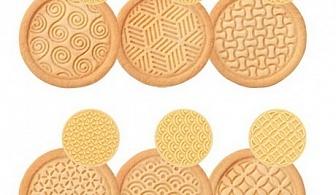Жълт комплект от 6 бр. печати за сладки Tescoma от серия Delicia