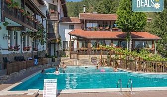 Зимен релакс в семеен хотел Алфаризорт 3* в село Чифлик! Нощувка със закуска и вечеря, ползване на външен минерален басейн и релакс зона