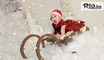 Зимна фотосесия в студио с декори по избор, аксесоари, 20 обработени кадъра /60 минути/, от Mimi Nikolova Photography