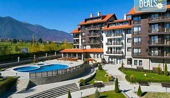 Зимна почивка в Хотел Балканско Бижу 4* край Банско! 1, 2  или 3 нощувки, нощувки със закуски или със закуски и вечери, ползване на вътрешен басейн, сауна, парна баня и джакузи, паркинг, бзплатно за дете до 5.99 г.