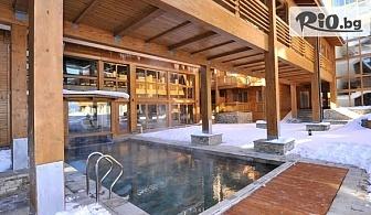 Зимна почивка край Банско! Нощувка със закуска в апартамент или къща за до 6-ма + СПА, басейни и трансфер до ски писти, от Апартаментен комплекс Пирин Голф 4*