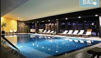 Зимна приказка в хотел Каза Карина 4* в Банско! 1 нощувка със закуска и вечеря, ползване на басейн, сауна, парна баня и фитнес, безплатно за дете до 3.99г.