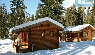 Зимна приказка във вилни селища Ягода и Малина 3*, Боровец! Наем на вила за 1 нощувка за до 5 човека!