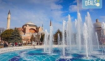 Златна есен в Истанбул! 3 нощувки със закуски в хотел 3*, транспорт, екскурзовод и възможност за посещение на Watergarden Istanbul и Via Port Venezia