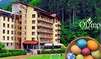 4-звезден Великден в Тетевен! 2 нощувки със закуски и вечери - едната празнична + сауна и джакузи само за 110 лв. в хотел Олимп****