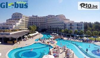 5-звездна почивка в Кушадасъ! 5 или 7 нощувки на база 24 H ULTRA All Inclusive в Sea Light Resort Hotel 5*, със собствен транспорт, от Глобус Холидейс